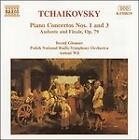 Pyotr Il'yich Tchaikovsky - Tchaikovsky: Piano Concertos Nos. 1 & 3; Andante & Finale, Op. 79 (1996)