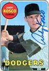 1969 Topps Andy Kosco Los Angeles Dodgers #139 Baseball Card