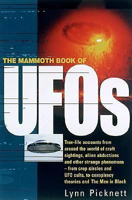 The Mammoth Book of UFO's (2001, Paperback)