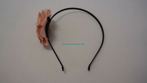 ~* STYLISH HAND MADE WIDE MULTICOLOR HAIR BAND ACCESSORIES BLACK BROWN GREEN *~