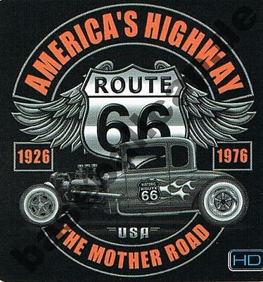 T-Shirt #426 THE MOTHER ROAD, Hot Rod Dragster US-Cars Classic-Car Oldtimer