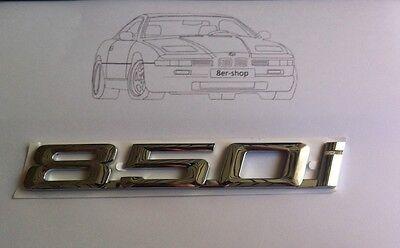 Original BMW 850i Emblem 8er e31 Typenschild Schriftzug NEU