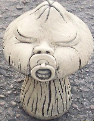 Baby Face Mushroom (In 2 Parts) Garden Ornament Latex & Fibreglass Mould/Mold