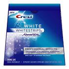 Crest 3D White Whitestrips With Advanced Seal Professional Effects Enamel Safe Dental Whitening Kit,...