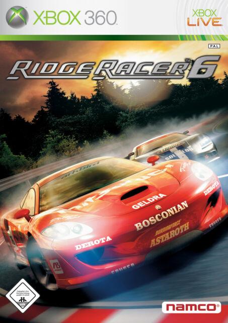 Ridge Racer 6 (Xbox 360, kompl. in deutsch, Anleitung) A05