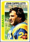 1978 Topps John Cappelletti Los Angeles Rams #453 Football Card