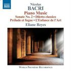 Nicolas Bacri - : Piano Music (2011)