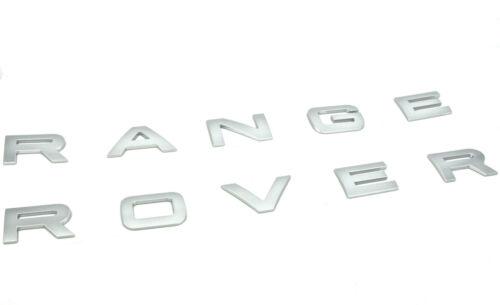 Genuino Nuevo Range Rover Insignia Capó Capucha Logotipo Para L494 Range Rover Sport 2013+