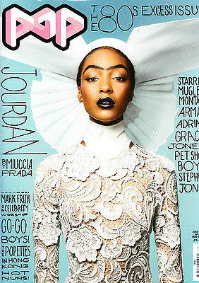 POP Magazine #19 JOURDAN DUNN Juno Temple PET SHOP BOYS Aline Weber THE POPETTES