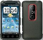 Carbon Fiber Hard Snap On Case Cover Faceplate Protector for HTC Evo 3D + Free Texi Gift Box