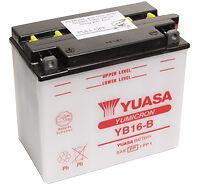 Batterie-Yuasa-YB16B-Honda-VF-1000-BATT-MOT-YB16B-YU-avec-acide