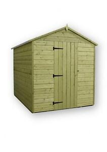 image is loading garden shed 6x7 apex shiplap t amp g