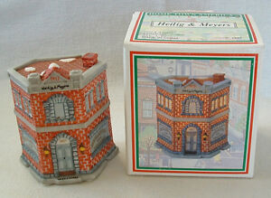 Heilig Meyers House 1993 Porcelain Bisque Village Home Town America Furnishings