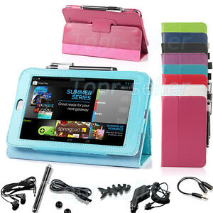 PU-Leather-Folio-Case-Cover-for-Google-Asus-Nexus-7-034-Tablet-with-Free-Accessory