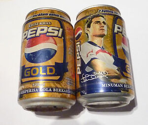 PEPSI-GOLD-Cola-can-MALAYSIA-soda-Collectors-2007-Limited-Edition-FRANK-LAMPARD