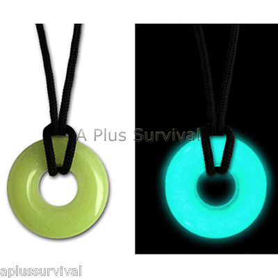 UV UVO Blue Necklace Glo Glow in the Dark Light Stick Nite Lite Night Safety