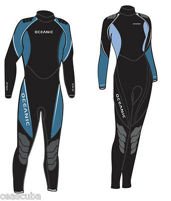 Brand New Oceanic Ultra 1mm Jumpsuit Mens Wetsuit