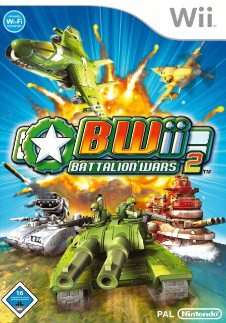 Battalion Wars 2 (Nintendo Wii, 2008, DVD-Box)(H) 10511