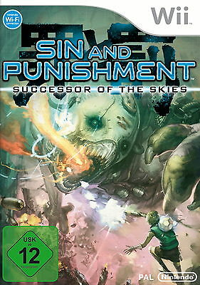 Sin and Punishment: Successor of the Skies (Nintendo Wii, 2010, DVD-Box)