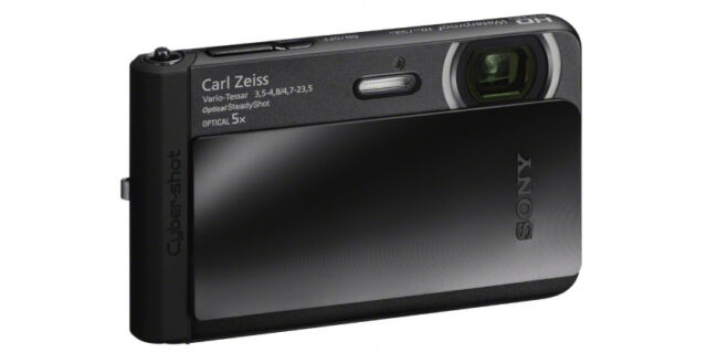 Sony Cyber-shot DSC-TX30/B Black 18.2MP Water, Dust & Shock proof Digital camera