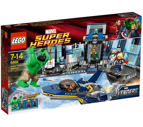 LEGO Super Heroes Hulk's Helicarrier Breakout  6868