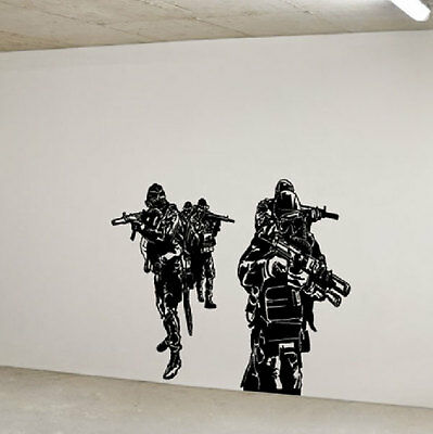 Navy Seals Special Forces Huge Wall Vinyl Decal,team 6 st6 DEVGRU Delta force