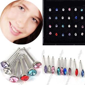 wholesale-lot-24pcs-Fashion-Rhinestone-Nose-Ring-Bone-Stud-Body-Piercing-Jewelry