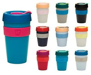 Keep Cups Reusable Plastic Coffee Cup Take Away Takeaway