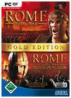 Total War: Rome - Gold Edition (PC, 2006, DVD-Box)