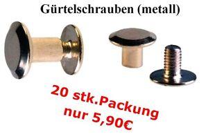 Guertel-GURTELSCHRAUBEN-10stk-packung-NEU