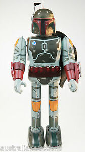 BOBA-FETT-STAR-WARS-TIN-TOY-BY-TIN-AGE-NEW-CONDITION-JAPAN-MADE-CLOCKWORK-WALK