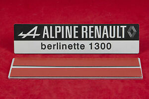 SIGLE-PLAQUE-DE-COFFRE-ARRIERE-ALPINE-A110-V85