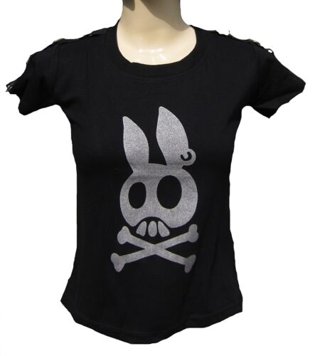 Designer logo t-shirt s//M//L//xl//xxl D /'rockabilly punk rock bébé strass tank tops