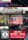 ProTrain Perfect 2 Add-On 6: Hannover-Bremen (PC, 2012, DVD-Box)