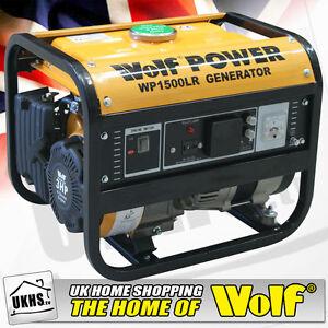 Wolf-WP1500-1200W-1-5-KVA-3HP-Petrol-Generator-BNIB