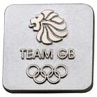 London 2012 Olympic Games Team GB Logo Badge, Silver