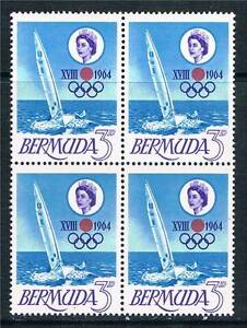 Bermuda-1964-Olympic-Games-Block-4-SG-183-MNH