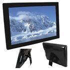 15 Inch 15 Multimedia Lcd Digital Photo Frame Pictures Album Avi Mp4 Black