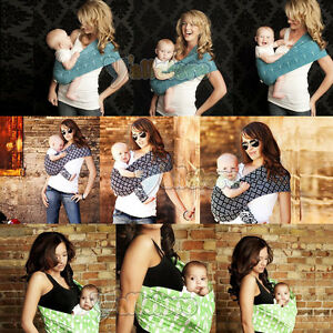 New-Seven-Slings-Baby-Infant-Newborn-Carrier-Sling-Wrap-Cute-Stylish-UPick-Color
