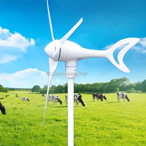Phoenix Max 550 W Watt 12 V AC 3 Blades Wind Turbine Generator System New