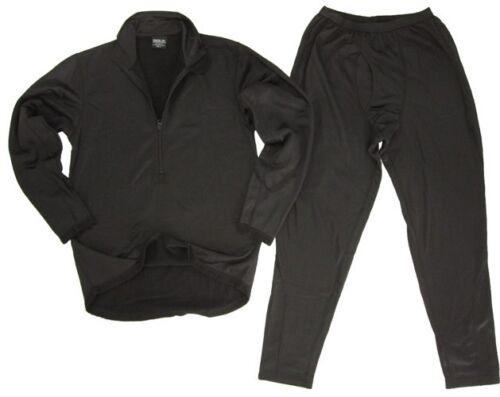 Winter Under Base Layer Set Third Generation ECWCS Thermal Underwear Black