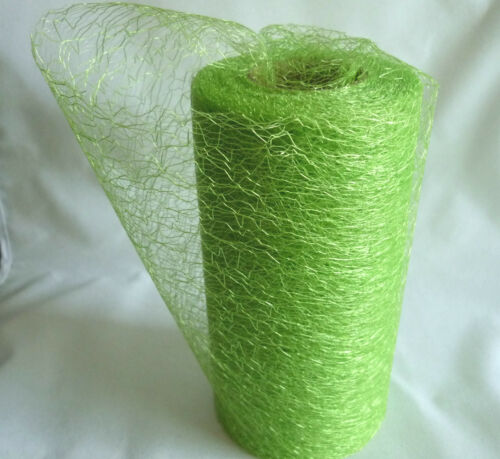 Spider Web//Ángel de pelo en un rollo 20 metros X 15 cm solo-Púrpura /& Fucsia izquierda