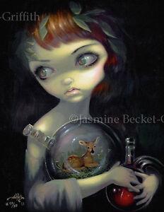 Microcosm-Fawn-Jasmine-Becket-Griffith-CANVAS-PRINT-lowbrow-pop-surrealism-art