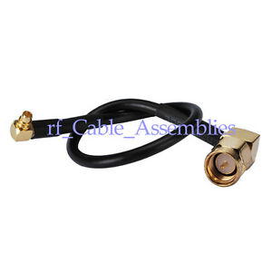 RF-cable-SMA-plug-right-angle-90-to-MMCX-male-right-angle-RG174-pigtail-15cm