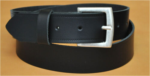4CM WIDE 70cm Bis 180cm Bw Nickle Free Buckle Leather Belt 11499