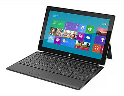 Microsoft Surface RT 32GB,Wi-Fi, 10.6in Black/silver A Grade keyboard included