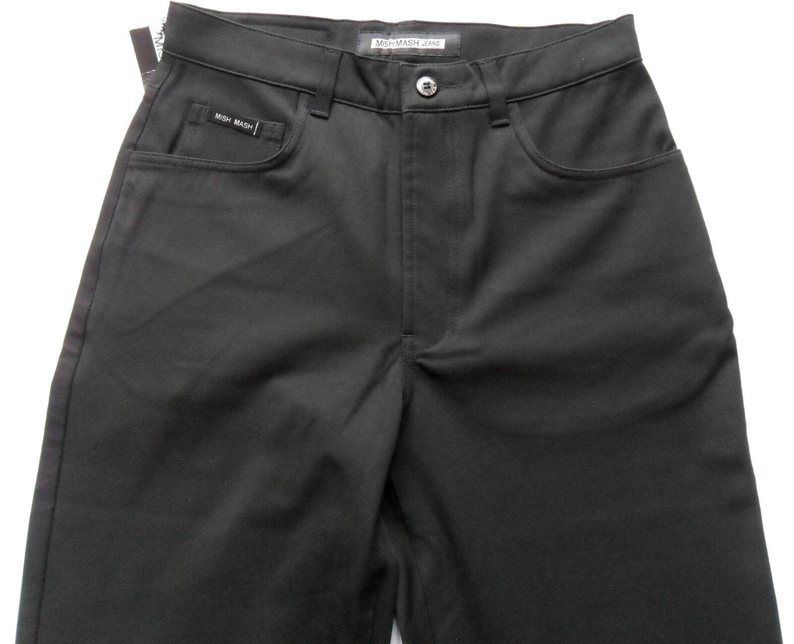 MISH MASH Mens Lycra Gaberdine Stretch Trousers Pants Navy Waist Waist Waist 28 30 32 34 36 943cb7
