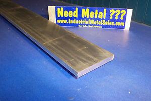 """1/2"""" x 4"""" x 36""""-Long 6061 T6511 Aluminum Flat Bar-->.500"""" x 4"""" 6061 Flat"""