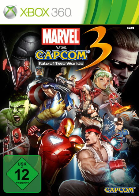 Marvel vs. Capcom 3: Fate Of Two Worlds (Microsoft Xbox 360) neuwertig