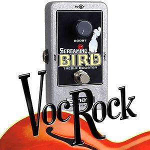 electro harmonix screaming bird treble booster guitar effects pedal ebay. Black Bedroom Furniture Sets. Home Design Ideas